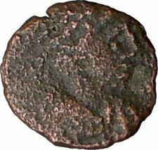 THEODOSIUS II 423AD Authentic Ancient Roman Coin VICTORY Nike i20680