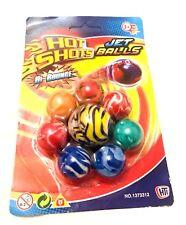 Confezione da 8 MINI Bounce Rimbalzante Palline Di Partito Borse cariche per bambini per-Hot Shot