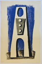 Edward August Landon (1911-1983), A Figure, Serigraph On Paper Signed & Numbered