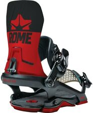 Rome D.O.D. Snowboard Bindings L/XL Red / Black (US 10.5+) New 2021 Do or Die!