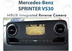 Mercedes Benz Sprtiner MBUX Audio - Rear camera integration
