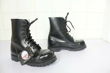 Vintage Underground Shoes Safety Boots Schwarz Eu:36-Uk:3 made in England---NEU