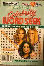 Spotlight Celebrity Word Seek - March 2020 - Penny Press