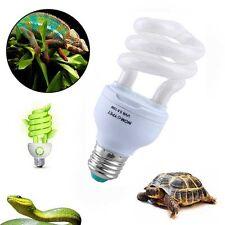 5.0 UVB 13W Reptile Light Bulb UV Lamp Vivarium Terrarium Tortoise Lizard Snake
