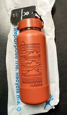 Hydro Flask 32 Oz limited Edition RARE 100% Authentic from Hawaii Color Red Dirt