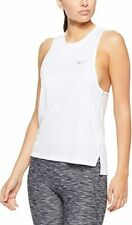 Nike Women's Dry Miler Running Tank Top nwt BLACK New Size M S AT4210-010