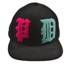 Pink Dolphin WAVE LORDZ Black Pink Aqua Snapback Baseball Cap Men's Hat