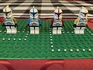 BAD BATCH DISNEY clone wars weapons upgrade lot 4 minifigures custom Star Wars