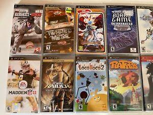 CIB Sony PSP Games You Pick - Brand New - Free Sticker - US Seller