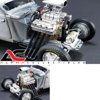 GMP 18899 1:18 BLOWN DRAG ENGINE/TRANSMISSION ONLY PLUMBED/WIRED ZOOMIE HEADERS