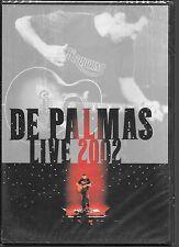 DVD ALL ZONES--CONCERT--DE PALMAS LIVE AU ZENITH 2002--NEUF