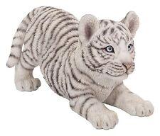 Vivid Arts-la vida real de animales del zoológico-Blanco juguetón Tiger Cub