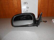 USED 1993 Dodge Colt; Left Manual Side Mirror #625