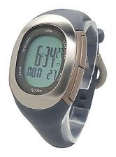 Nike Imara HRM SM0032 Grey Silicone Chronograph Heart Rate Monitor Watch