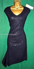 Karen Millen V Neck Sleeveless Stretch, Bodycon Women's Dresses