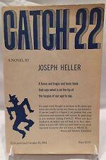 CATCH 22 Joseph Heller - Very Good *ADVANCE READING COPY* collectible book!