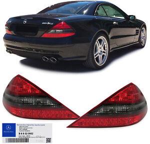 Original AMG Facelift LED Tail rear lights B66020952 for Mercedes SL R230 01-11