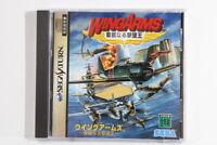 Wing Arms / WINGARMS SEGA Saturn SS Japan Import US Seller G8403