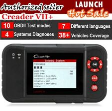 2020 Version X431 LAUNCH VII+ Automotive Scanner OBD2 Code Reader Tool AS CRP123