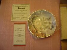 """""""Pride of America's Indians Plate Collection"""" Plates 1-3 w/ CoAs"""