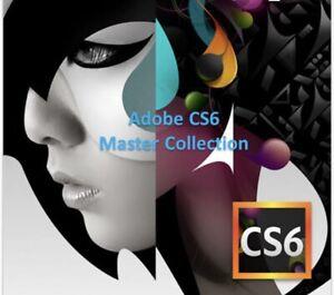 Adobe CS6 Master Collection Full Version - Windows/Mac In English Lang