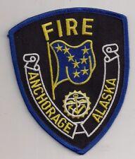 Patch Anchorage Fire Department Alaska USA Feuerwehr