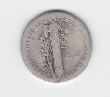 1917 MERCURY SILVER DIME United States Coin olive branch war peace L-650