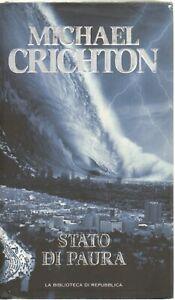 Stato di Paura di Michael Crichton. Versione da edicola.