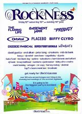 ROCK NESS 2009 Rave Flyer Flyers A5 12-14/6/09 Loch Ness THE PRODIGY (live)