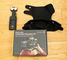BLACKMAGIC URSA MINI SHOULDER KIT + SmallRig VCT-14 + Shoulder strap