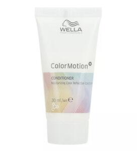 Wella COLOR MOTION+ Moisturising Colour Reflection Conditioner 30ml - New