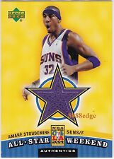 2004-05 UPPER DECK ALL-STAR WEEKEND SWATCH: AMARE STOUDEMIRE #AS SUNS/KNICKS
