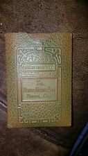 Vintage Savings Account Book In Protective Sleeve The Denver National Bank 1940s