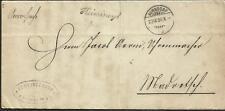 SWITZERLAND 1880 JUDICIAL COVER MADRETSCH TO BURGEDORF BY BIENNE VFINE