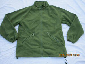 Englische Fleecejacke,oliv,Liner Green Thermal, Gr. 170/96