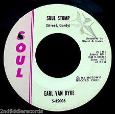 EARL VAN DYKE -Soul Stomp & Hot 'N Tot-Rare Funk Instrumental 45-SOUL #S-35006