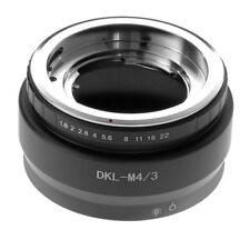 DKL-M4/3 Adapter Ring Objektivadapter Fr Deckel Lens to Micro Four Third Kamera