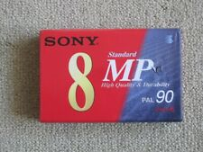 sony 8mm video 8 cassette tape MP Standard 90 minutes PAL
