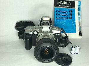 Minolta Maxxum 4 35mm SLR Film Camera - Excellent condition