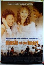 Music of the Heart 1999 Original Movie Poster 27x40 Rolled, Double-Sided