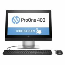 HP ProOne 400 G2 20-inch Touch All-in-One PC, 20 in, Intel Pentium@3.3GHz, 4 GB