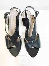 Designer Marc Jacobs Black Leather Size 39 Worn Once Women's Sandals