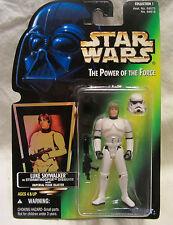 1996 STAR WARS POWER OF THE FORCE LUKE SKYWALKER IN Soldado Imperial Disfraz