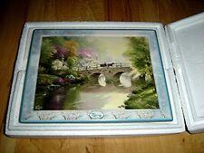 THOMAS KINKADE'S BRIDGES OF LIFE Hometown Bridge 5th issue BRADFORD PLATE