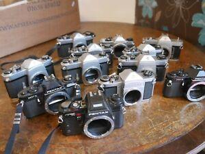 Pentax SLR cameras joblot 35mm film Spotmatic S1a Program A SPF