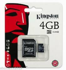 4GB 4 GIG MicroSD Memory Card for Blackberry 9900 8520 9300 Curve 9320 9380 9360