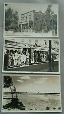 More details for egyptain tramways cairo + hotel sphinx +walwan view to pyramid vintage postcard