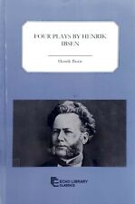 Four Plays by Henrik Ibsen Echo Library Classics ex-library excellent condition