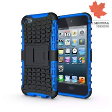 iPod Touch 5 6 Case iPod Touch 7 case 2 in 1 Hybrid Armor Cover Tough Protect...