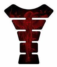 Fire Angel Red Motorcycle Gel Gas tank pad tankpad protector Decal